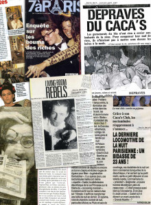 Le Caca's Club - my first interview EVER, in Paris Passion Magazine republished