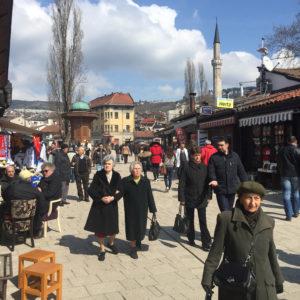 Sarajevo_OldTown_Scene_byDeirdre_Mulrooney