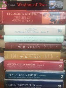 George Yeats Reading Pile